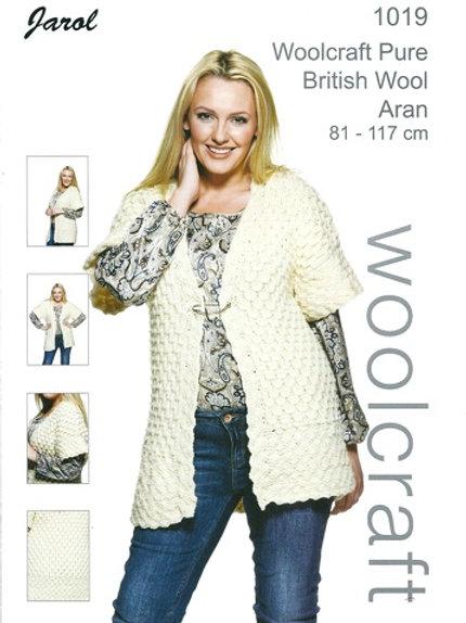Woolcraft 1019 Aran Waistcoat  81-86/112-117cm 32-34/44-46in