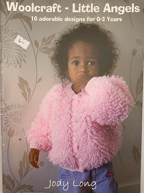 Woolcraft Little Angels 10 Designs 0-3 Years