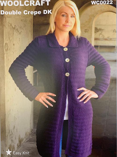 Woolcraft 0022 Cardigan  81-107cm 3242in