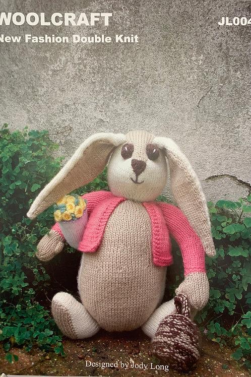 Woolcraft JL004 Rosie the Rabbit DK