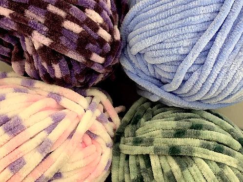 Woolcraft Plush Chenille Chunky 100g