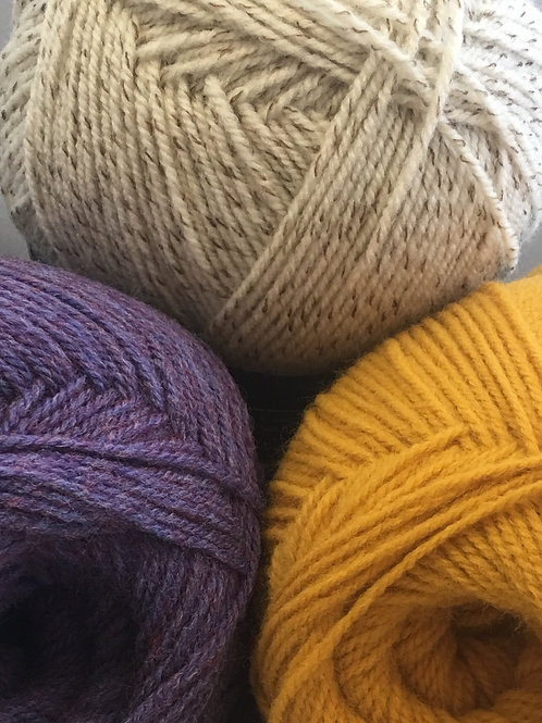 Woolcraft 25% Wool Aran  400g