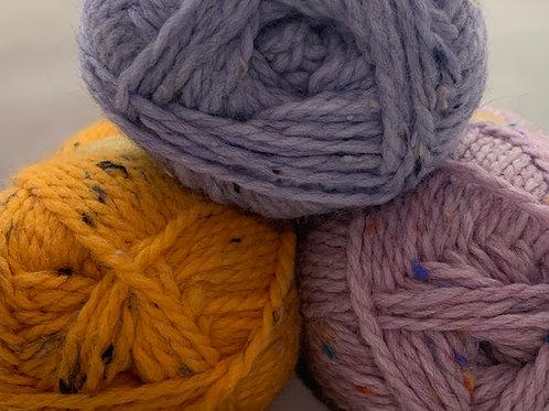 Woolcraft Shetland Tweed Chunky 100g
