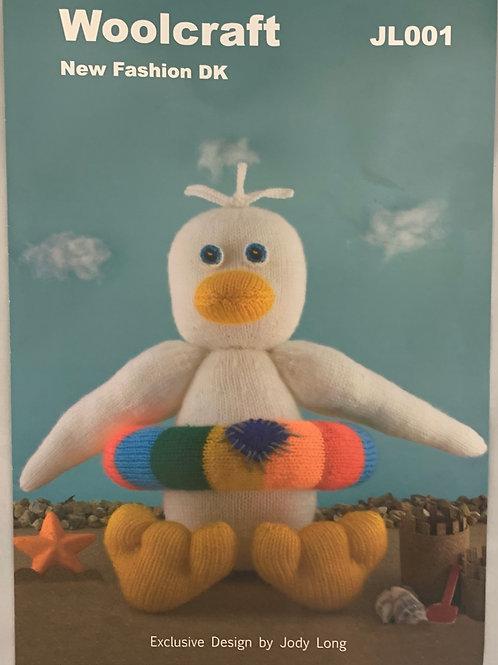 Woolcraft JL001 Dippy the Duck DK