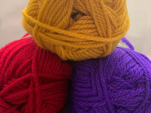 Woolcraft New Fashion Chunky 100g