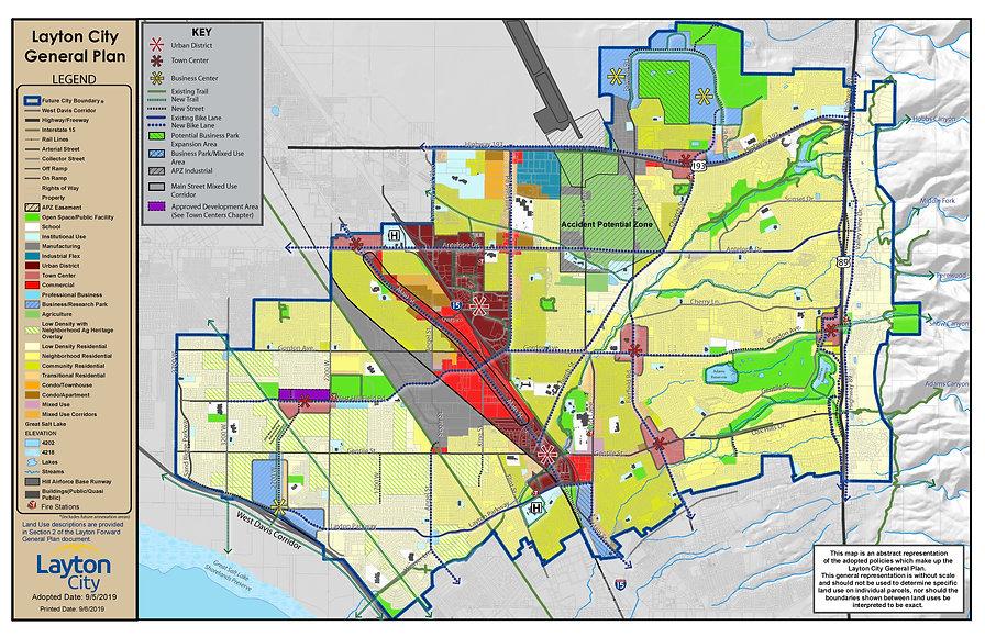 General Plan Land Use Map (September 5,