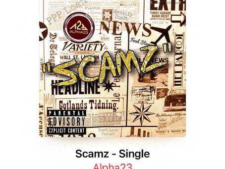 """Hip Hop Star Alpha23 Raps About Fraudulent Side of Music Industry On New Single """"SCAMZ"""""""