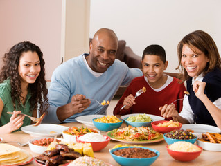 Family Dinners Protect Teens--But How?
