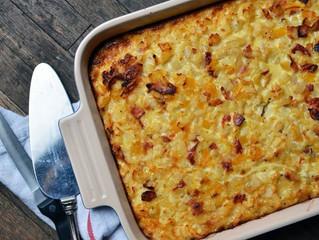 Egg, Bacon and Potato Breakfast Bake