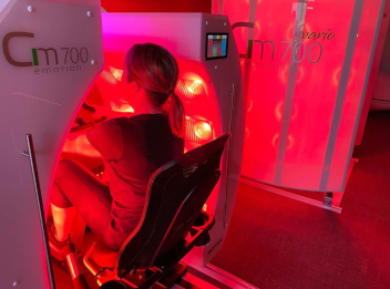 infrared spin bike, infrared therapy, halifax, bedford, wellness studio