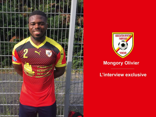 L'interview exclusive . Mongory Olivier