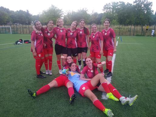 U18 Féminine . Match Amical