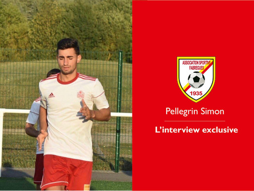 L'interview exclusive . Pellegrin Simon