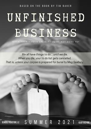 Unfinished Business - Teaser Poster