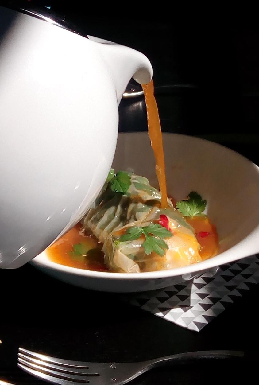 Raviole Crevette - Mangue