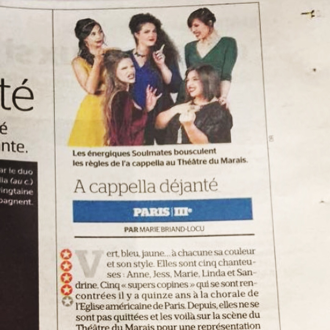 Le Parisien - Article Papier