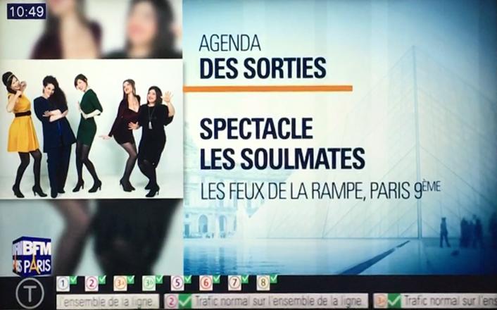 BFM TV - Agenda des Sorties