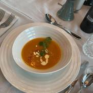 squash soup at The Norseman