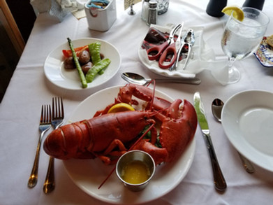 fresh lobster from the wharf