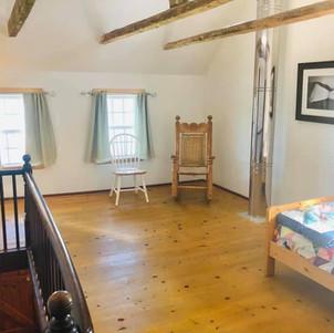Open loft room