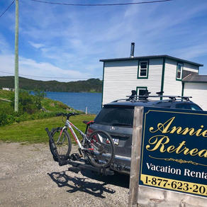 Annie's retreat- Quoyle's and Wavey's