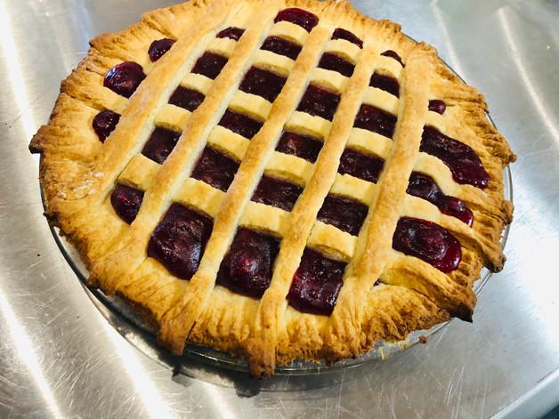 Partrideberry pie