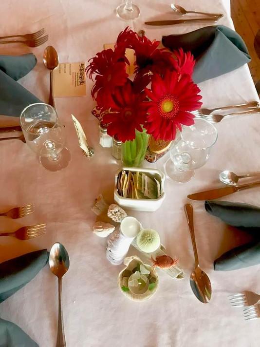 Table set at Norseman