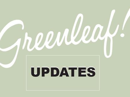 Greenleaf Updates