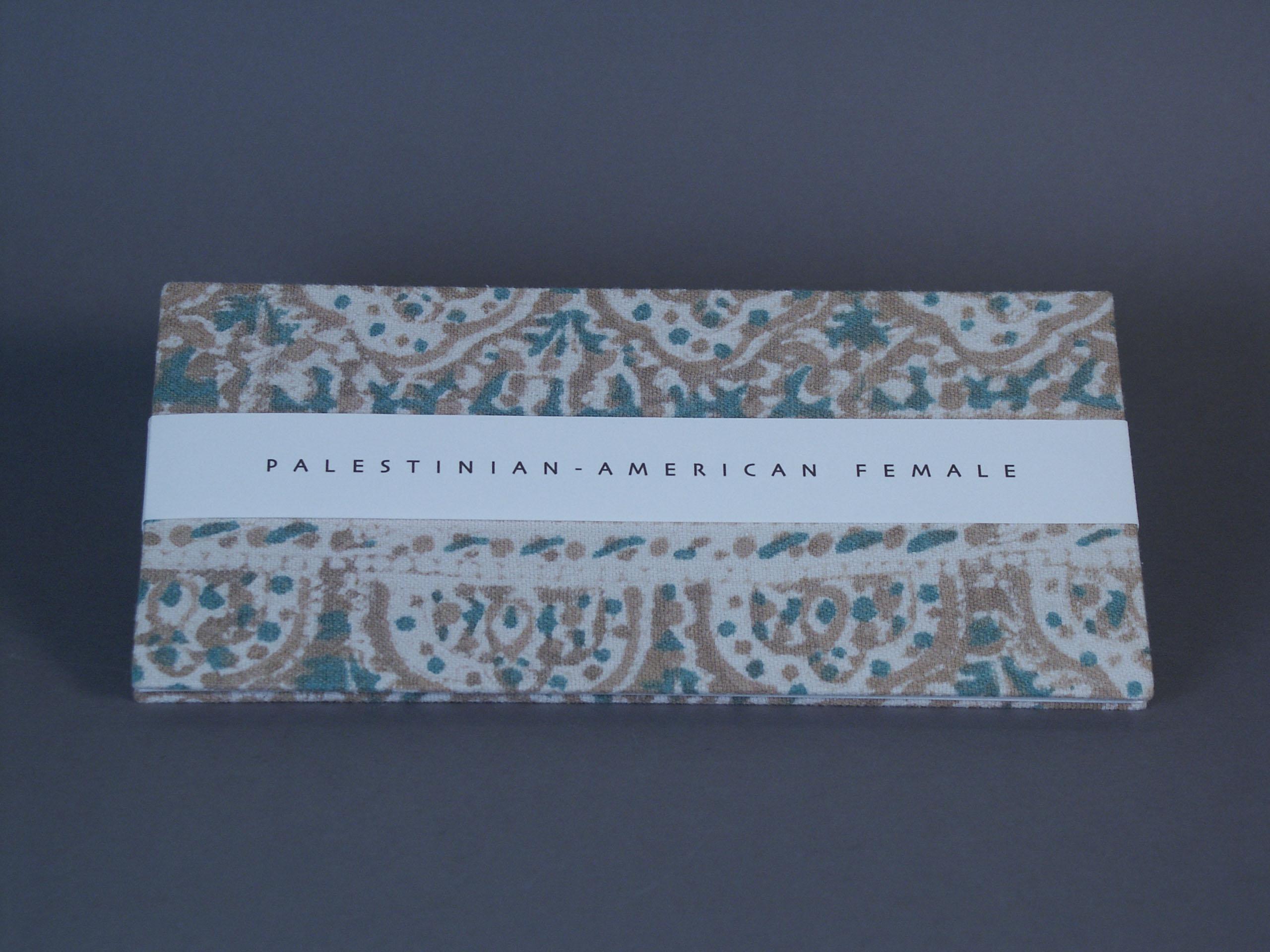 Jewish/Palestinian American Female