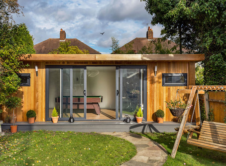 Garden Buildings - An easy way to add value and space to your home