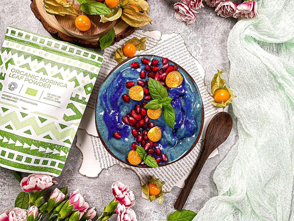 Tropical Blue Nice Cream