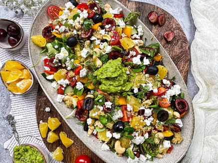 Rainbow Picnic Salad