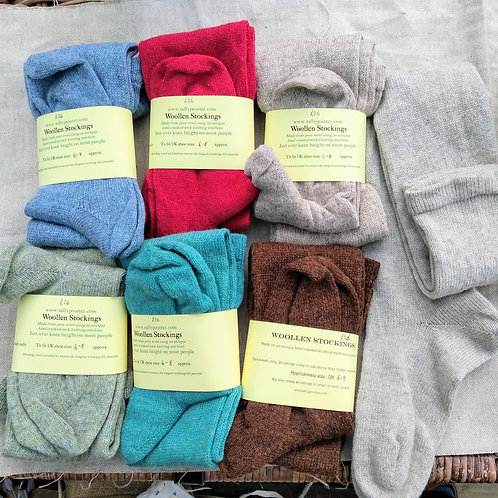 Woollen Stockings, size 6-8 (in stock)