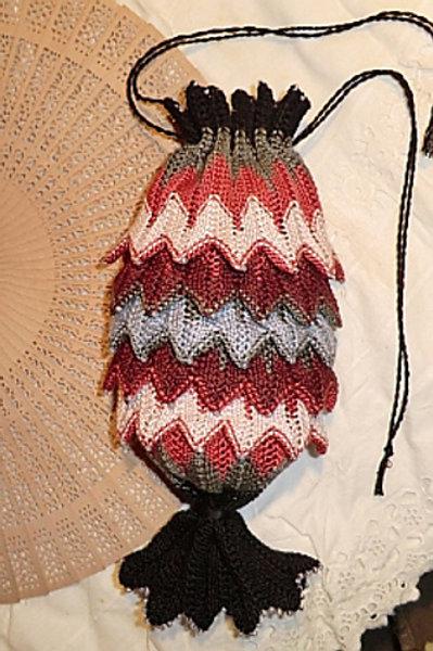 Silk Porcupine Purse