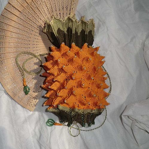 Pineapple Reticule