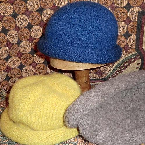 Roll-brim Hat -to order