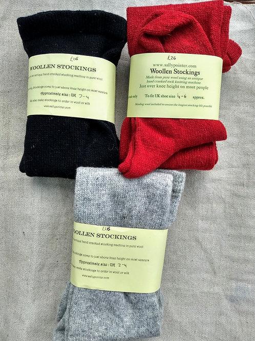 Woollen Stockings size 3-6 (in stock)