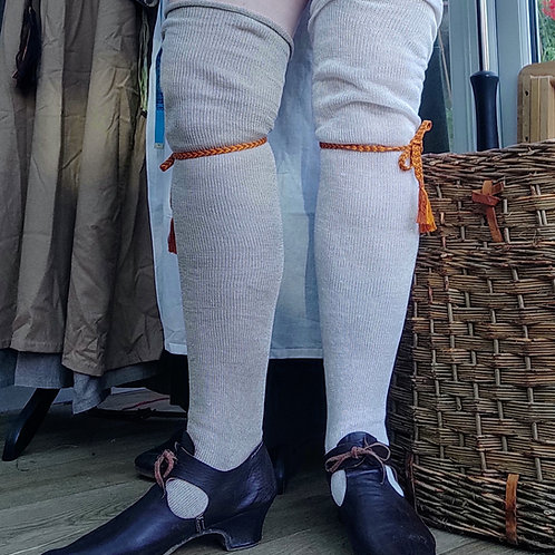 Heavy Linen Stockings