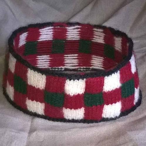 Diced hatband