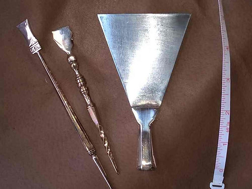 Roman tablet Scraper