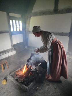 Tudor Cooking