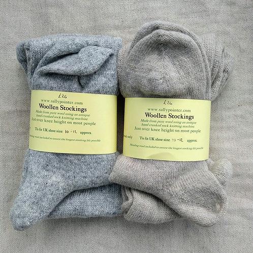 Woollen Stockings UK size 10-12 (in stock)