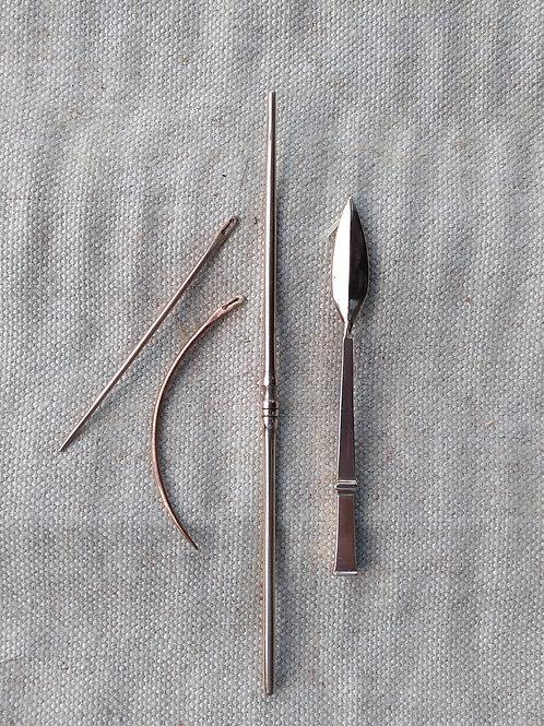 Bronze medical set