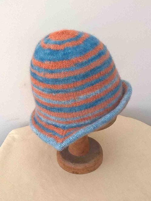 'That Orange & Blue Hat'- to order