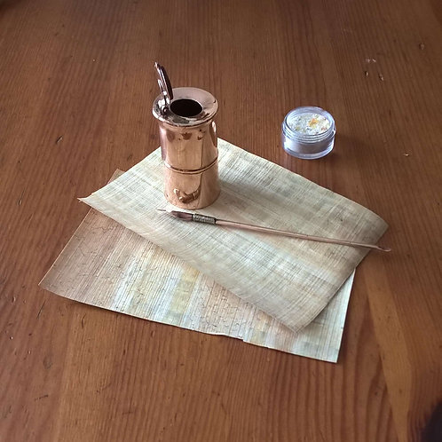 Roman inkwell & pen set