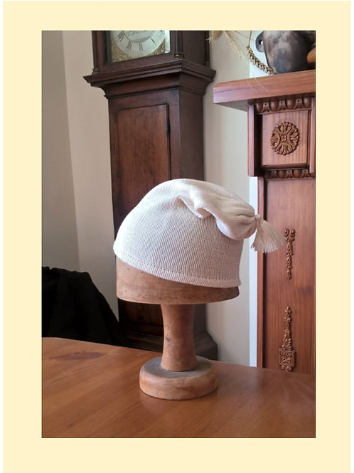 Plain silk nightcap -to order