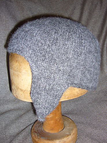 Earflaps Coif- to order
