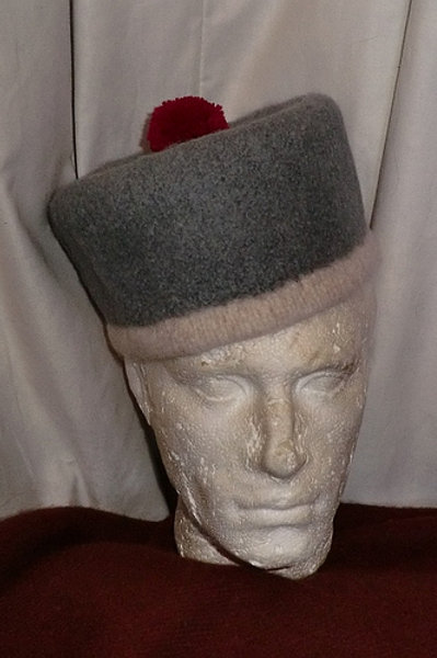 1813 Grey Forage Cap- to order
