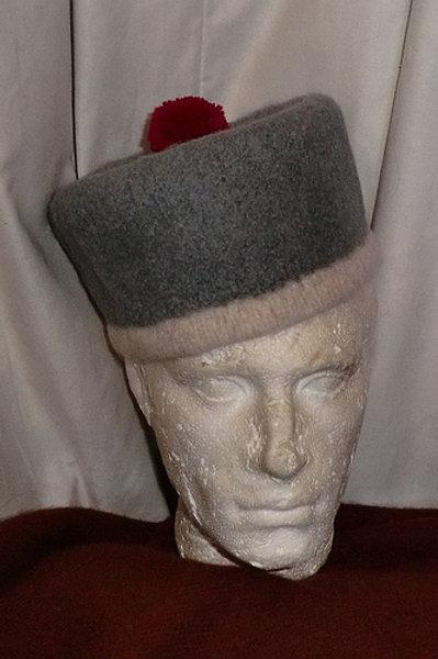 1813 Grey Forage Cap- to order