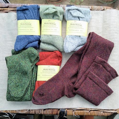 Woollen Stockings, size 8-10 (in stock)
